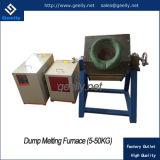 Metalli che fondono il forno di fusione di induzione della macchina per rame, oro, argento o bronzo di fusione ecc