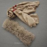 Cashmere Real moda lenço quente