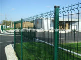 Ralは3V PVCによって塗られる溶接された金網の塀のポスト50*200mmを着色する