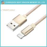 1m Nylon geflochtener Typ a bis USB-Typ C 2A Extensions-Daten-Kabel schnell aufladend