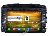 KIA Sornto Rk3188 쿼드 코어 HD 1024X600 스크린 16GB 저속한 1080P WiFi 3G 정면 DVR DVB-T 미러 링크 주사위 점 (W2-M442)를 가진 2014년 차 DVD GPS 선수를 위한 Witson S160