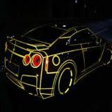 Luminescente in The Dark Auto Car Paint