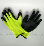 С покрытием из латекса труда защитные рабочие перчатки (дешевле)
