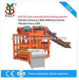 Meilleure vente Qtj4-26D'une machine à fabriquer des blocs semi-automatique