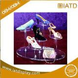 Estalar acima o indicador cosmético do anel de varejo plástico acrílico de Eyewear do armazenamento da jóia da jóia