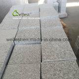 Tegel van het Graniet van de Eigenaar van de steengroeve de Grijze voor de Bekleding die van de Vloer van de Muur het Bedekken van de Weg behandelen