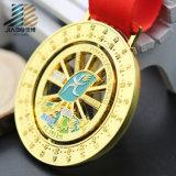 Medaglia del ricordo del Jesus del bronzo dell'oggetto d'antiquariato del commercio all'ingrosso della fabbrica del fornitore dell'oro