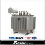 Transformador de potência trifásico 11000V 600kVA