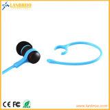 Écouteurs Bluetooth sans fil confortable Tour d'oreille de sport avec message vocal