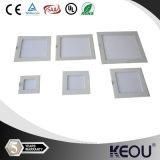 Niedriges Price und MOQ Ultra Thin Square Round LED Panel Light 3-24W