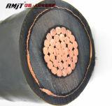 Swa médio da isolação da tensão XLPE/cabo de cobre blindado de Sta