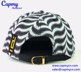 Casquillo lleno de lujo del Snapback del sombrero de la impresión con la corrección del bordado