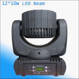 10*12W LED Träger-bewegliches Hauptstadiums-Licht für Innen