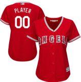 Qualquer Nome Personalizado qualquer n qualquer logotipo da equipe Homens Mulheres Crianças Los Angeles Angels camisolas de beisebol da base legal