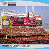 Alto schermo di visualizzazione esterno del LED di colore completo di luminosità P10 con il video comitato di pubblicità del modulo P10 di HD