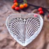 Lastra di vetro di figura del cuore