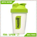 BPA liberano la bottiglia dell'agitatore del miscelatore della proteina 400ml con la sfera del collegare del Mie dell'acciaio inossidabile