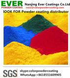 Pó de poliuretano para impressão por sublimação de tinta seca de folhas de alumínio