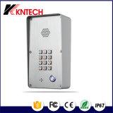 Il citofono del IP/telefono Knzd-43A del portello Un-Tocca il telefono di composizione