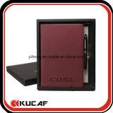 Imprimir A5 Bloc de notas con bolígrafo y regalo Box Set