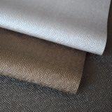 Grande cuoio granuloso trasversale del PVC per la decorazione del portello della base della parete