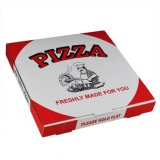Projetar caixas da pizza de Cardbaord do papel ondulado