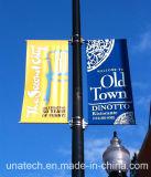 通りのポストの屋外広告の旗の昇進のフラグの立場(BT38)