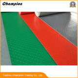 熱い販売のプールのゴム製マット防水PVCマットロール平野様式の床のマット