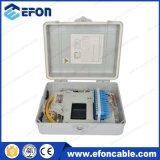 Cadre d'achêvement de fibre optique de faisceau de Fdb FTTH 24 avec le presse-étoupe