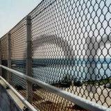 Загородка безопасности для стадиона, PVC покрыла звено цепи