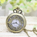 Retro OEM ver Dom Colar grande Owl Assista Pocket Watch