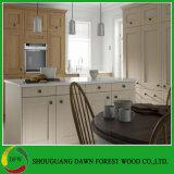 Gabinete de cozinha moderno barato da porta da melamina