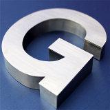 Lettres faites sur commande de la Manche d'acier inoxydable de qualité de signe de lettre d'usine