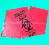 Kundenspezifischer Biohazard Beutel, Inflectious medizinischer überschüssiger Beutel, LDPE/HDPE/PP
