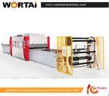 Positif et presse chaude profilée négative de machine en bois de machine de presse