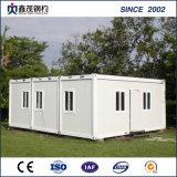 Chambre préfabriquée personnalisée d'ouvrier de dortoir de conteneur avec la toilette de cuisine de chambre à coucher