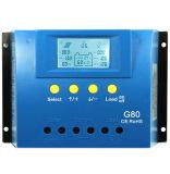 80AMP 24V/12V PWM 24h 역광선 태양 규칙 G80