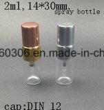 feder-Spray-Flasche des Duftstoff-2ml Glas