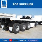 Titan-Fahrzeug - 50 Tonne 40 Fuß Flachbettschlußteil-LKW-Schlussteil-hergestellt in China