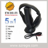Auriculares auriculares auriculares inalámbricos para PC TV MP3 CD