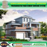 Südafrika-helles Stahlkonstruktion-vorfabriziertes Hotel-Ausgangslandhaus-Haus
