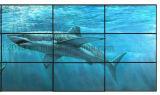 """46 """" pouces écran de épissure visuel étroit d'affichage à cristaux liquides de panneau de mur de l'encadrement DEL de 3.5 millimètres"""