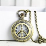 OEM Retro Watch Gift Necklace Large Montre de montre à huîtres