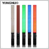 Yongnuo Yn360 Ручной светодиодный индикатор видео 3200K, 5500K RGB красочные 39.5см льда Memory Stick профессиональные фотографии светодиодный индикатор Yn 360 скребка