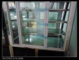 Autodescongelação Bolo Comercial Freezer Showcase Armário com porta Front-Opening