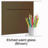 4mm曇らされた塗られたガラスまたは白くか黒くまたは赤い曇らされた塗られたガラス