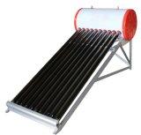 Calentador de agua solar de vacío del tubo de la presión de cristal no