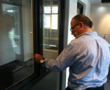 Perfis de extrusão de alumínio / alumínio para instalação de janelas e portas