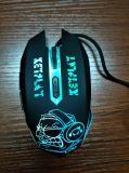 Mouse collegato ottico personalizzato del calcolatore di gioco del USB (M-65)