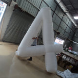 Inflatable Arabic Numerals for Advertising